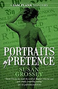 Cover of Portraits of Pretence by Sam Grossey