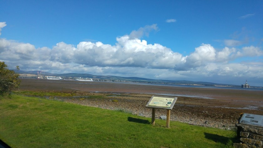 View across the Cromarty Firth