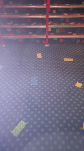 photo of hotel carpet