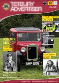 Cover of October issue of the Tetbury Advertiser