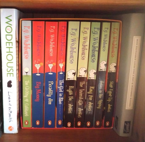 P G Wodehouse box set