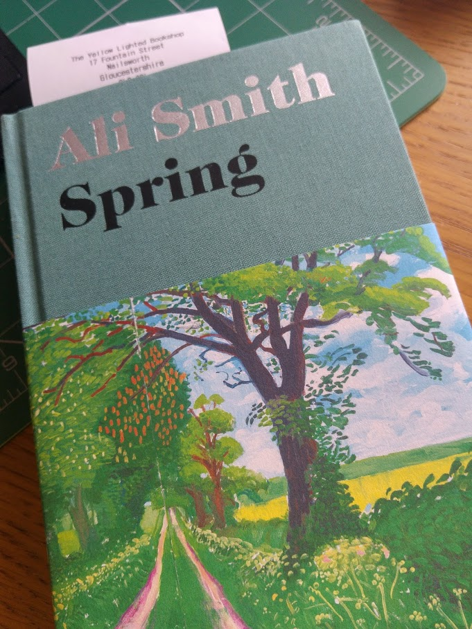 cover of Spring by Ali Smith