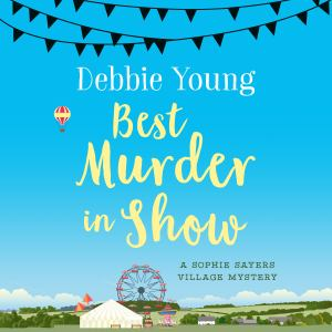 image of square version of Best Murder in Show cover, ready for new audiobook