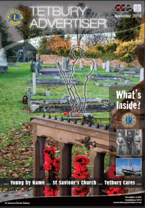cover of the November issue of Tetbury Advertiser