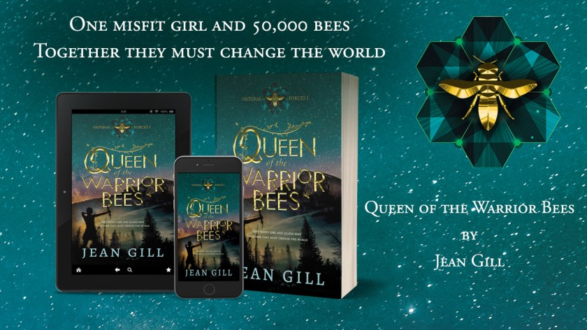 BANNER AD for Jean Gill's eco-fantasy novel