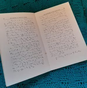 sample pages of Sherlock Holmes novel in Pitman Shorthand
