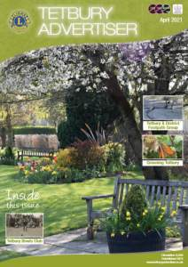 cover of the April issue of The Tetbury Advertiser