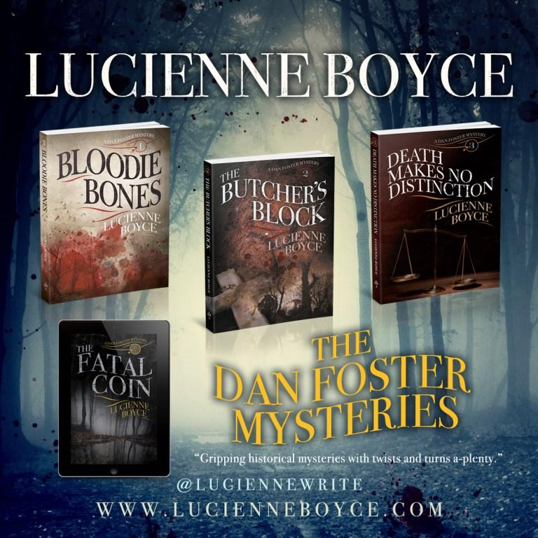 array of Dan Foster mysteries