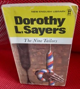photo of old paperback edition of The Nine Tailors