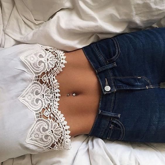 Image result for black person showing belly button