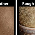 rough out leather vs suede