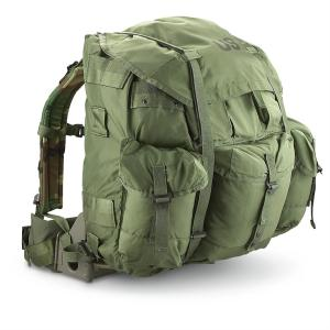 circa 1973 the alice pack has been trusted by all branches of the military and has additional attachment pieces - Military Rucksack With Frame