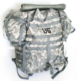 the molle features