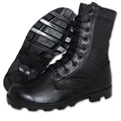 Shoe Artists Combat Jungle Boot Men in Black f9c04017247