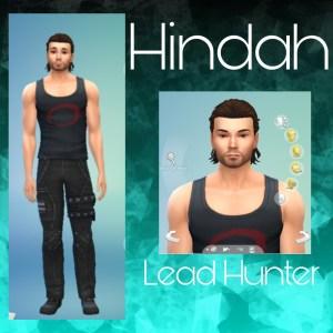 Hindah's Character Image Print