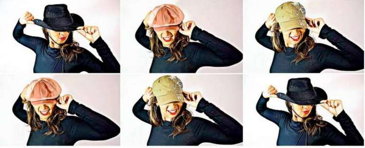 This is Your Quest Author Joanne Reed The art of wearing hats Cowboy hats casual hats