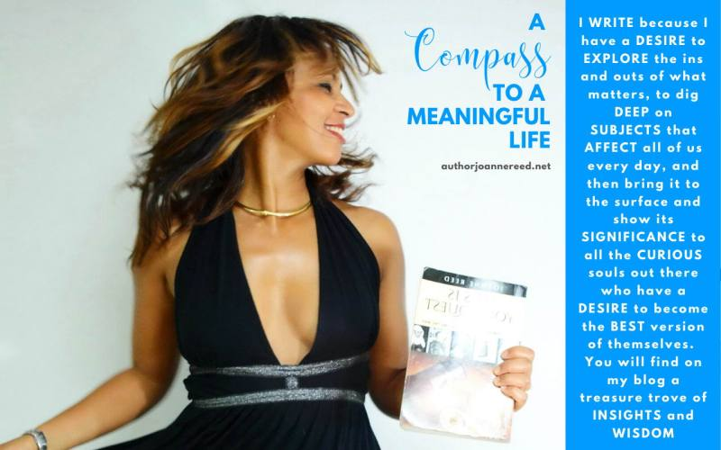 This is your quest author joanne reed Joy Based Living - Meaningful Conversations
