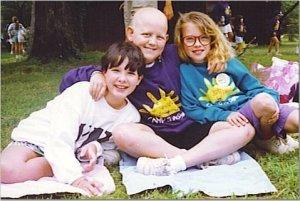 Camp Sunshine, 1992. A flock of Kati(e)'s.