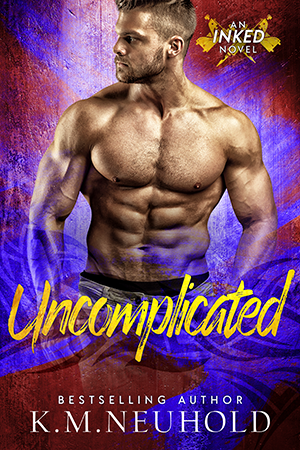 Uncomplicated by KM Neuhold - Gay Romance Book Cover