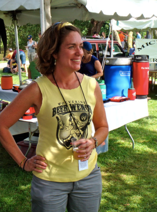 Liz Crowe, A.K.A. The Beer Wench
