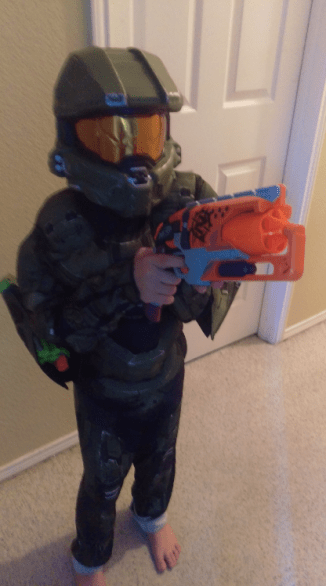 Spawn is a part of the gaming, HALO, NERF and Shoes are Evil subculture.