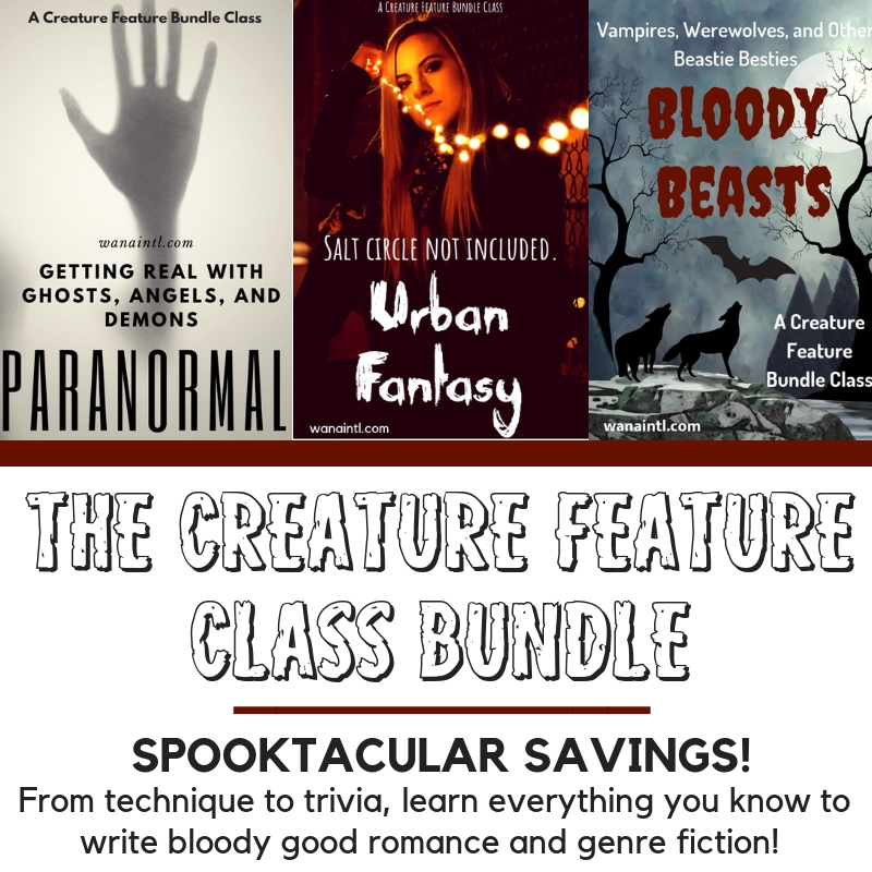 GHOSTS, PARANORMAL, VAMPIRES, WEREWOLVES, WRITING