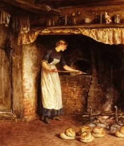 Baking Bread by Unknown