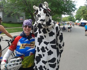 I forget where you were, Cow, but you were hawking really yummy malts.