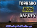 Join us for this #WeeklyKidChallenge as we learn tornado and storm safety, get prepared, and practice our emergency plan.