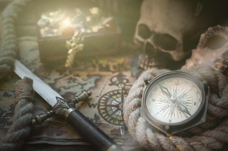 pirate graphic header