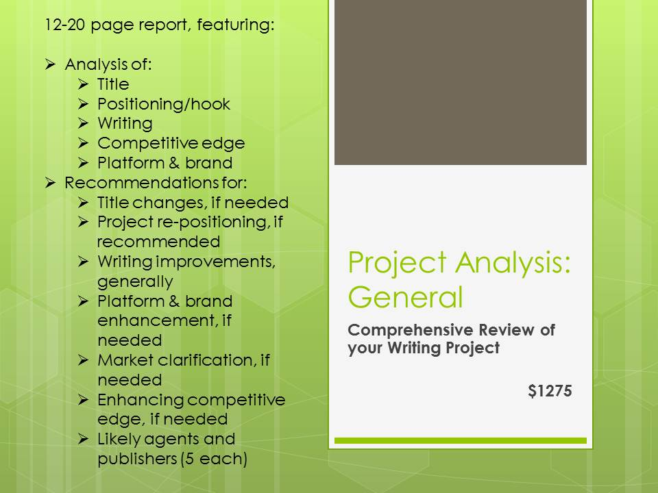 Author Planet Project Analysis
