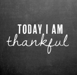 Today Thankful