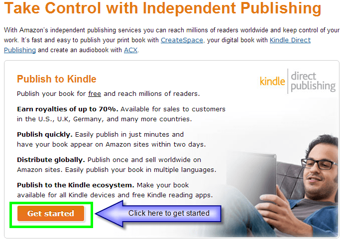how to get your book on kindle