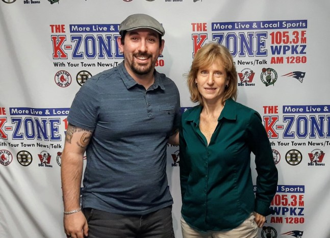 radio host wpkz travis condon and author s.m. stevens