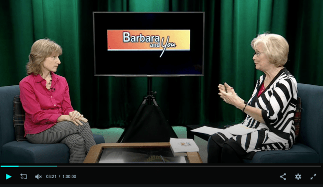 author s.m. stevens interview talk show barbara foster