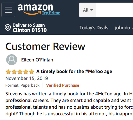amazon review of horseshoes and hand grenades by eileen o'finlan