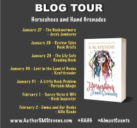s.m. stevens schedule horseshoes hand grenades blog tour