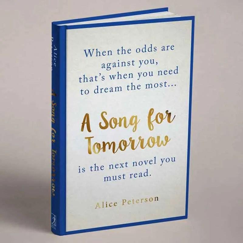 BOOK COVER DESIGN AUTHOR STUDIOS GOODBYE A SONG FOR TOMORROW
