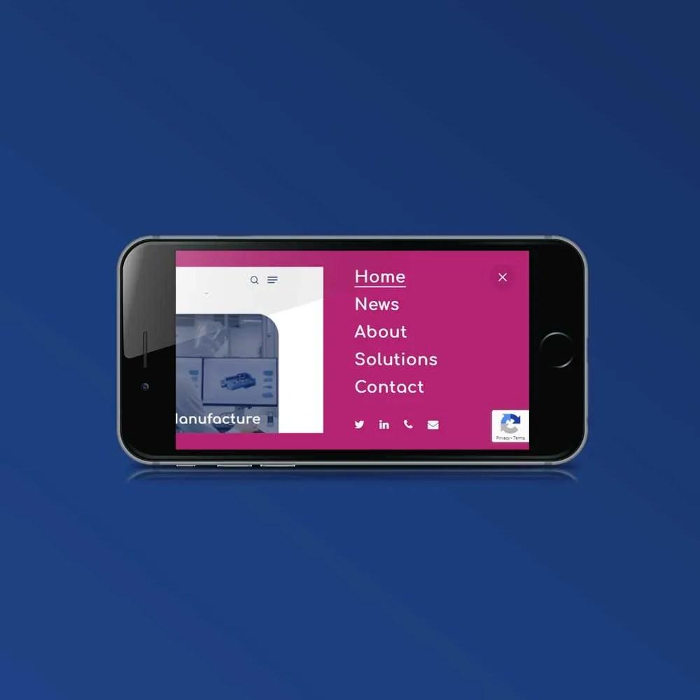 corporate website design inspiration frequncia ltd author studios iphone