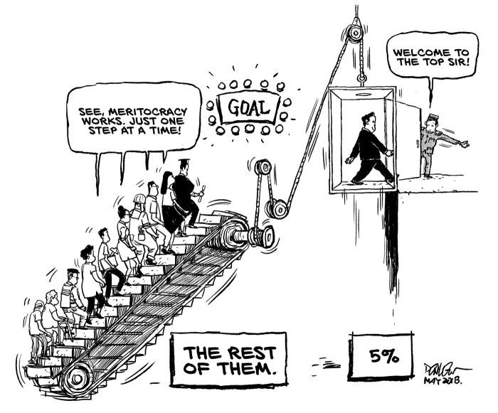 meritocracy critical race theory