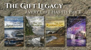 The Gift Legacy Series by JP McLean
