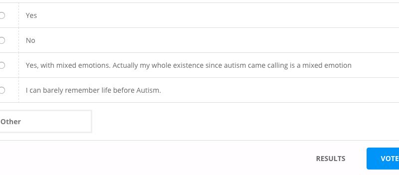 autism parenting poll