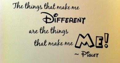 autism makes me different