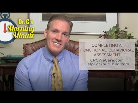 completing a functional behavioral assessment