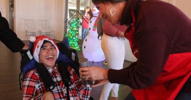 The Warren Center Hosts Sensory Friendly Operation Santa Event for 400 Children