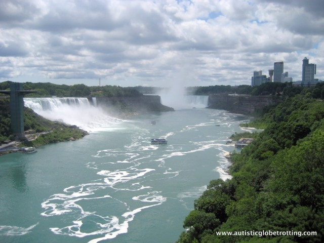 Five Activities at Niagara Falls for Families with Autism falls
