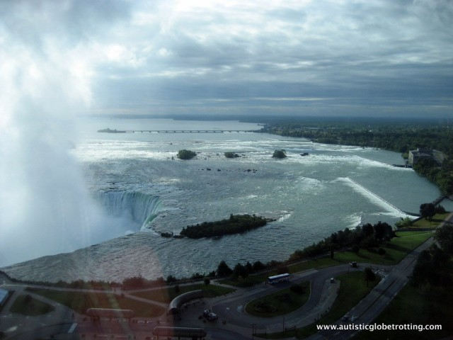 Five Activities at Niagara Falls for Families with Autism water