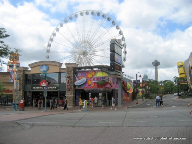 Five Activities at Niagara Falls for Families with Autism wheel