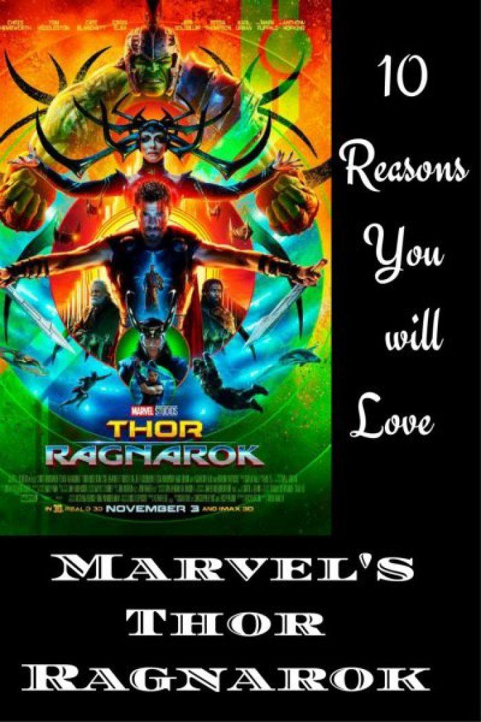10 Reasons You will Love Marvel's Thor Ragnarok pin