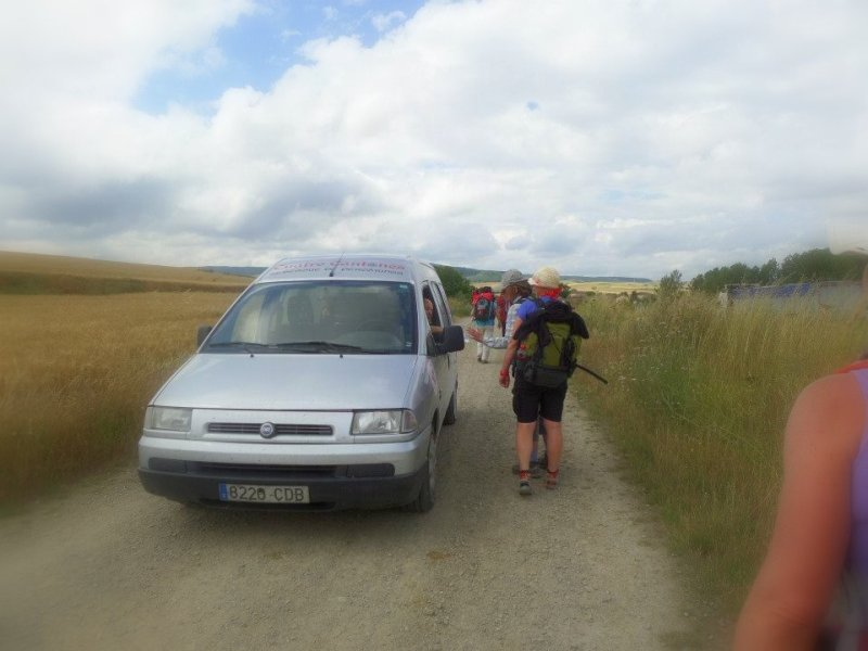 Trekking the Camino de Santiago de Compostela with Autism car